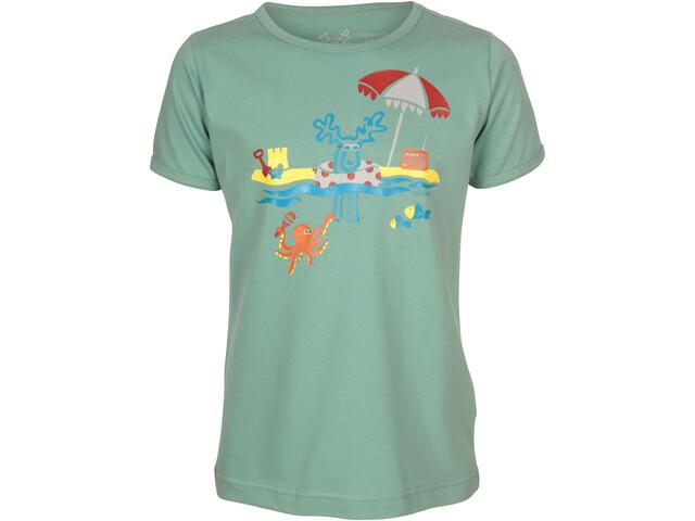 Elkline Mehrmeer T-Shirt Kinder malchite green